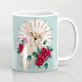 Ramona in flowers Coffee Mug