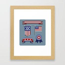 Happy Veterans Day 4 Framed Art Print