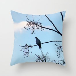 Sunrise Bird Throw Pillow