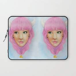 Bubblegum Queen Laptop Sleeve