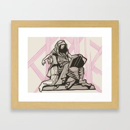 Cleo - Muse of History Framed Art Print