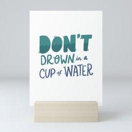 Simplify Yourself Mini Art Print