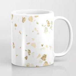 Metallic Gold Terrazzo Sparkle Coffee Mug