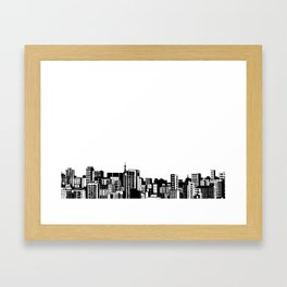 Skylines Framed Art Print