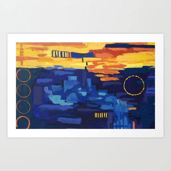Angelina Bowen Painting Art Print
