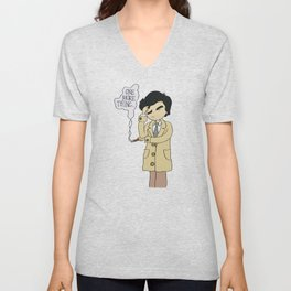Columbo - Just One More Thing Unisex V-Neck