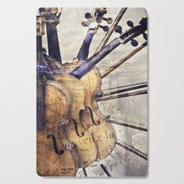 Classic Violins Cutting Board