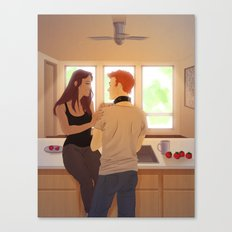 Instigation Canvas Print