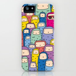 Color Monsters iPhone Case