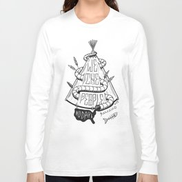We the People. NODAPL Long Sleeve T-shirt