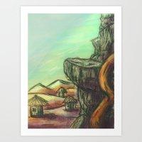 desert Art Prints featuring Desert  by Doom