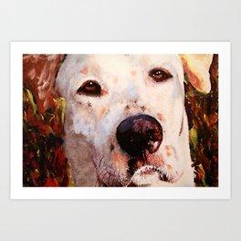 Monster The Dog Art Print