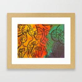 Gossip Framed Art Print
