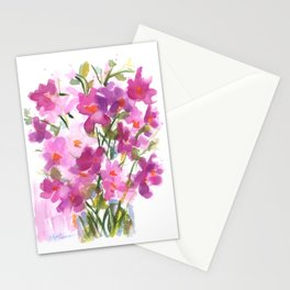 Pink Cosmos Bouquet Stationery Cards