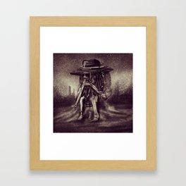 Shakashuri Blowdown Framed Art Print