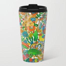 Tiny world Metal Travel Mug