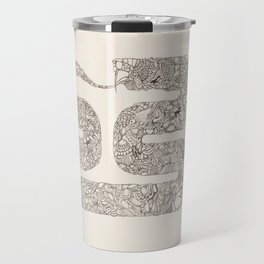 Snake of Misconception Travel Mug