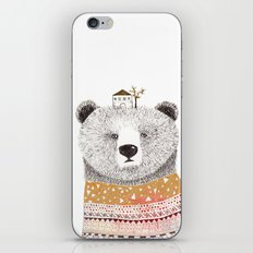 Mr. Bear iPhone & iPod Skin