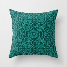 ANCIENT FLORA Throw Pillow