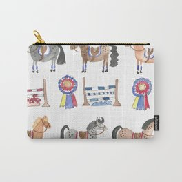 Jumper Ponies Carry-All Pouch