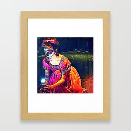 We shall see the sky sparkling with diamonds Framed Art Print