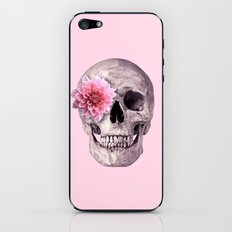 FLOWER SKULL iPhone & iPod Skin