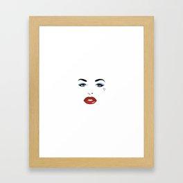 Porn Star Tribute Collection: Christy Mack Framed Art Print