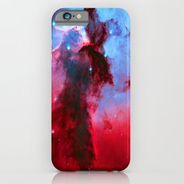 Eagle Nebula Stellar Spire iPhone Case
