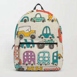 retro rides eggshell Backpack