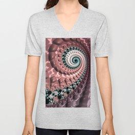 Lumpy Snail Unisex V-Neck