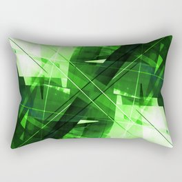 Elemental - Geometric Abstract Art Rectangular Pillow