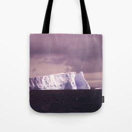 iceberg adrift Tote Bag