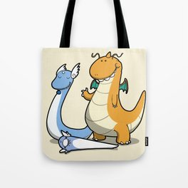Pokémon - Number 147, 148 and 149 Tote Bag
