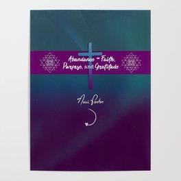Abundance - Neici Parker Haiku 200 - Triptych Right Poster