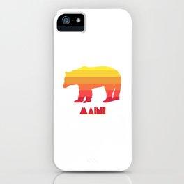 Maine Bear iPhone Case