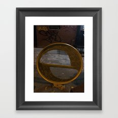 Interopia Enters Manhattan Framed Art Print