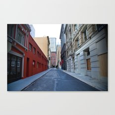 Go Where You Want To Go Canvas Print