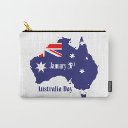 Happy Australia Day Carry-All Pouch
