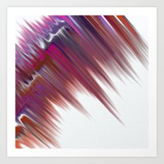 Fragment 16: Charging the Storm Into Art Print