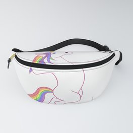 Unicorn Volleyball  Fanny Pack