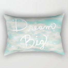 Dream Big (Turquoise) Rectangular Pillow