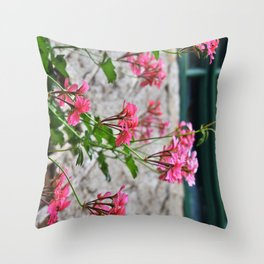 Eternal spring is in my heart Throw Pillow