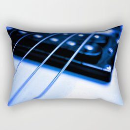 Guitar String Rectangular Pillow