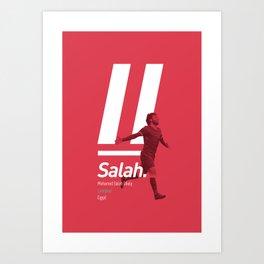 Salah Liverpool poster Art Print