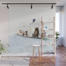 big surf time Wall Mural