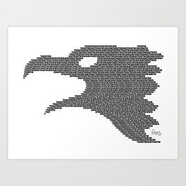 The Eagle of Wisdom Art Print