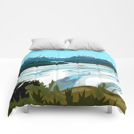 Dart River Valley, Glenorchy Comforters
