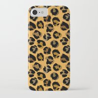 leopard iPhone & iPod Cases featuring Leopard by Julia Badeeva