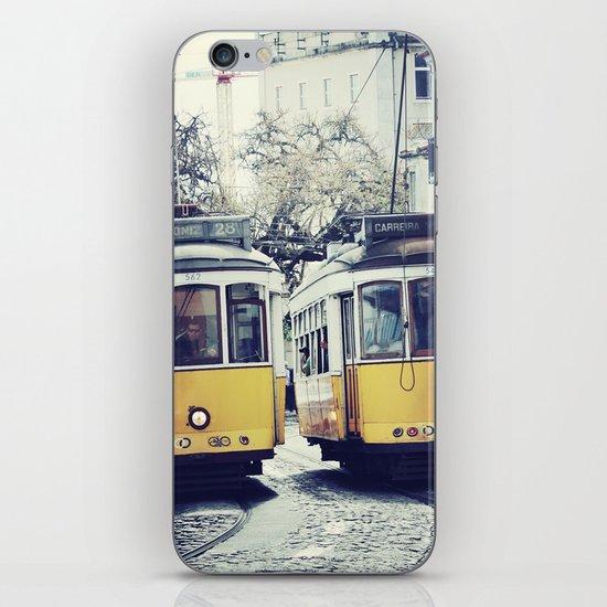 Yellow Lisbon iPhone & iPod Skin
