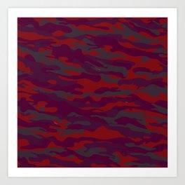 camuflaje 5  Art Print